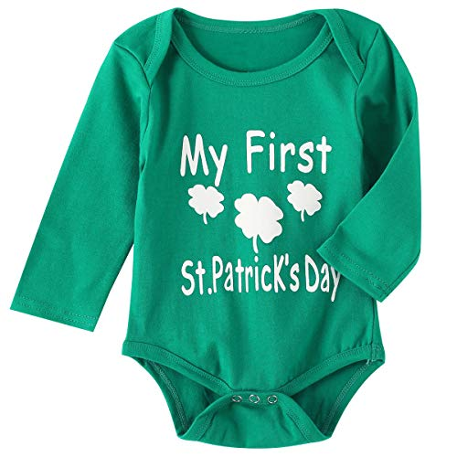 f6b19025d Pant Sets – 4Pcs Outfit Set Clover Baby Boy Girls My First St. Patrick's  Day Pant Clothing Set (Green, 6-12 Months) Offers