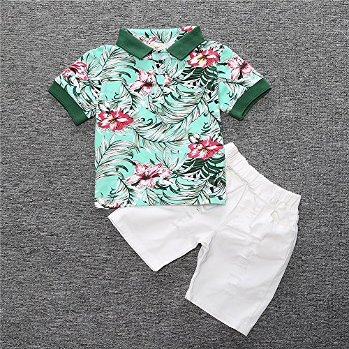 TJTJXRXR Little Boys Gentleman Kids Baby Boys Infant T-Shirts and Shorts Outfits