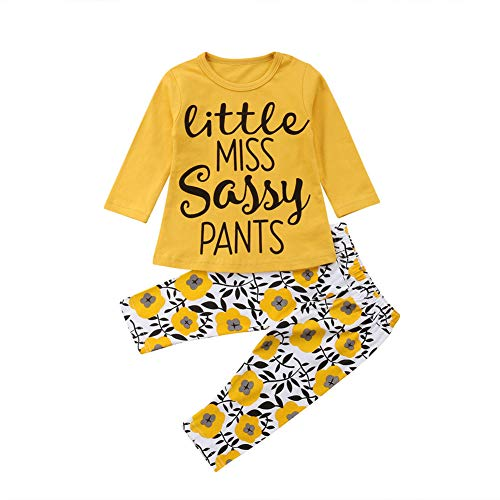 976846966769c Newborn Infant Baby Floral Clothes,Autumn Girl Boy Long Sleeve Tops+Long  Pants 2Pcs Outfits Set,0-3 Years Offers
