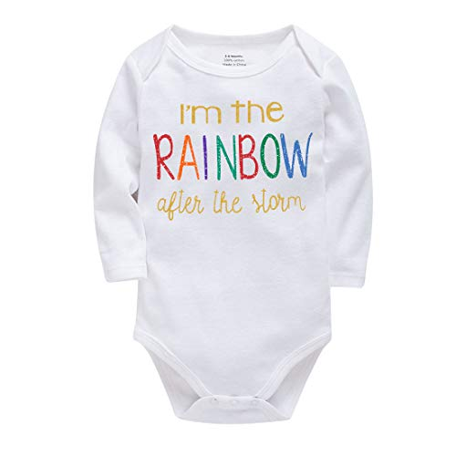 ef2d31ef8 Pant Sets – Winzik Newborn Infant Baby Boys Girls Outfits I'm The Rainbow  Letters Print Romper Jumpsuit Clothes T-shirt (0-6 months) Offers