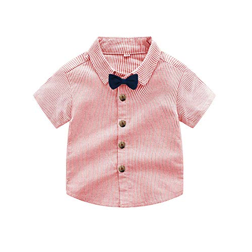 65e7c61e3 Short Sets – Tem Doger Baby Boys Cotton Gentleman Bowtie Long Sleeve Shirt+Overalls  Shorts Outfits Set (Pink-C, 80/6-12 Months) Offers